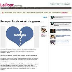 Pourquoi Facebook est dangereux... - Willyfr sur LePost.fr (16:55)
