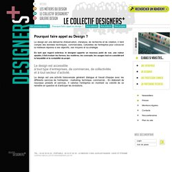 Pourquoi faire appel au Design ?