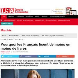 Pourquoi les Français lisent de moins en...