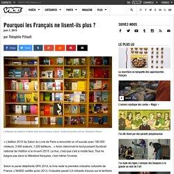Pourquoi les Français ne lisent-ils plus ?