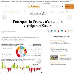 Pourquoi la France n'a pas son enseigne «Zara» - La Croix
