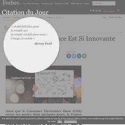 Pourquoi La France Est Si Innovante