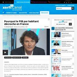 Pourquoi le PIB par habitant décroche en France