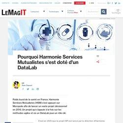 Pourquoi Harmonie Services Mutualistes s'est doté d'un DataLab
