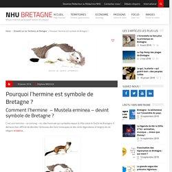 Pourquoi l'hermine est symbole de Bretagne ?