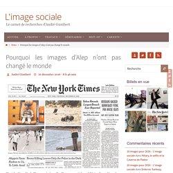 Pourquoi les images d'Alep n'ont pas changé le monde – L'image sociale