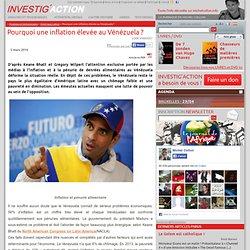 Pourquoi une inflation élevée au Vénézuela?