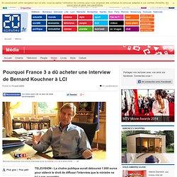 France 3 achete une interview de Kouchner