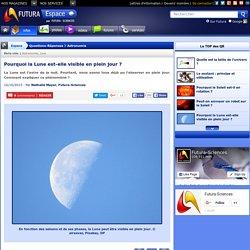 Question/Réponse > Pourquoi la Lune est-elle visible en plein jour ?