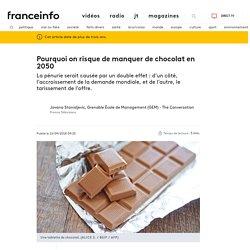 Pourquoi on risque de manquer de chocolat en 2050