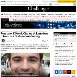 Pourquoi L'Oréal, Clarins et Lancôme misent sur le street marketing