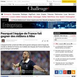 Pourquoi l'équipe de France fait gagner des millions à Nike - 24 juin 2014