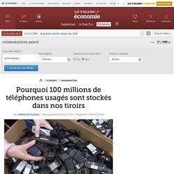 Pourquoi 100 millions de téléphones usagés sont stockés dans nos tiroirs