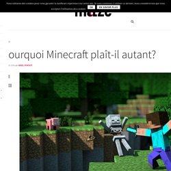 Pourquoi Minecraft plaît-il autant? - Maze Magazine