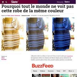 Pourquoi tout le monde ne voit pas cette robe de la même couleur