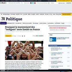 """Pourquoi le mouvement des """"indignés"""" reste limité en France"""