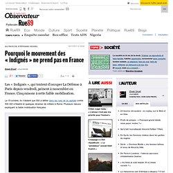 Pourquoi le mouvement des «Indignés» ne prend pas en France