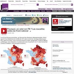 Pourquoi, où vote t-on FN ? Les nouvelles cartes du Front national