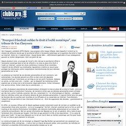 """""""Pourquoi il faudrait oublier le droit à l'oubli numérique"""", une tribune de Yan Claeyssen"""