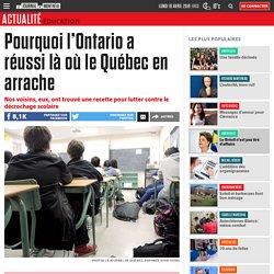 Pourquoi l'Ontario a réussi là où le Québec en arrache