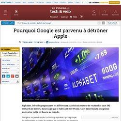 Pourquoi Google est parvenu à détrôner Apple