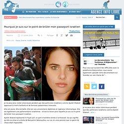 Pourquoi je suis sur le point de brûler mon passeport israélien