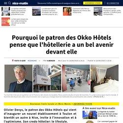 Pourquoi le patron des Okko Hôtels pense que l'hôtellerie a un bel avenir devant elle