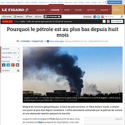 Pourquoi le pétrole est au plus bas - Figaro 06/08/14