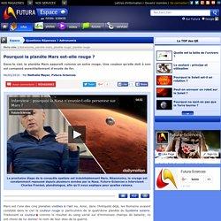 Question/Réponse > Pourquoi la planète Mars est-elle rouge ?