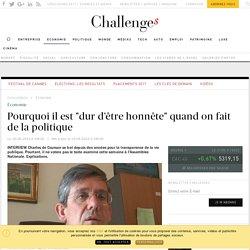 """Pourquoi il est """"dur d'être honnête"""" quand on fait de la politique - Challenges.fr"""