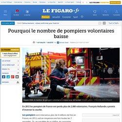 Pourquoi le nombre de pompiers volontaires baisse