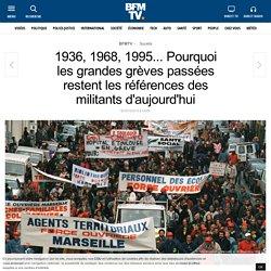 1936, 1968, 1995... Pourquoi les grandes grèves passées restent les références des militants d'aujourd'hui