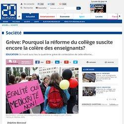 Grève: Pourquoi la réforme du collège suscite encore la colère des enseignants?