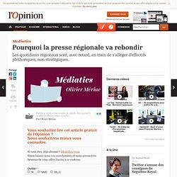 Pourquoi la presse régionale va rebondir