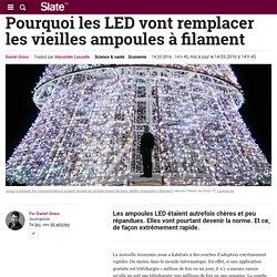 Pourquoi les LED vont remplacer les vieilles ampoules à filament