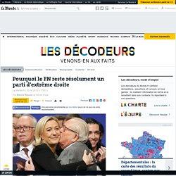 Pourquoi le FN reste résolument un parti d'extrême droite