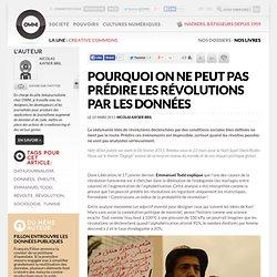 Pourquoi on ne peut pas prédire les révolutions par les données » Article » OWNI, Digital Journalism