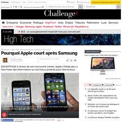 Pourquoi Apple court après Samsung - 20 août 2013
