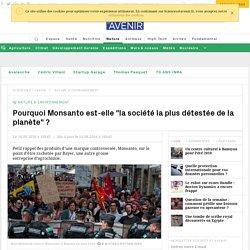 """Pourquoi Monsanto est """"la société la plus détestée de la planète"""" ? - Sciencesetavenir.fr"""