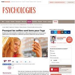 Pourquoi les selfies sont bons pour l'ego
