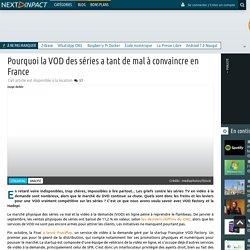 Pourquoi la VOD des séries a tant de mal à convaincreen France