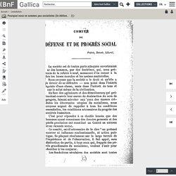Pourquoi nous ne sommes pas socialistes (3e édition 1895) / par M. Anatole Leroy-Beaulieu,...