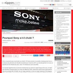 Pourquoi Sony a-t-il chuté ?