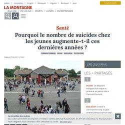 Pourquoi le nombre de suicides chez les jeunes augmente-t-il ces dernières années ? - Clermont-Ferrand (63000) - La Montagne