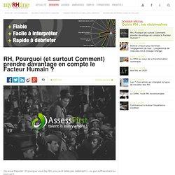 RH, Pourquoi (et surtout Comment) prendre davantage en compte le Facteur Humain ? - Dossier spécial RH