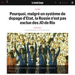 Pourquoi, malgré un système de dopage d'Etat, la Russie n'est pas exclue des JO de Rio