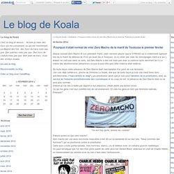 Pourquoi il était normal de virer Zéro Macho de la manif de Toulouse le premier février