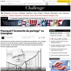 """Pourquoi l""""économie du partage"""" va triompher"""