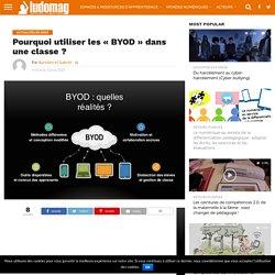 """Pourquoi utiliser les """"BYOD"""" dans une classe ?"""