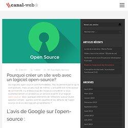 Pourquoi utiliser des logiciels open-source?